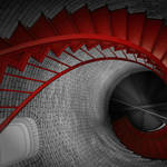 """Spiral Staircase"" by Black_White_Photos"