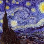 """""""Vincent Van Gogh - Starry Night - Sternennacht"""" by masterpiecesofart"""