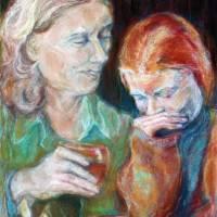Just Between Us Art Prints & Posters by Judy Schavrien