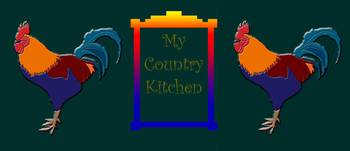My Country Kitchen Sign