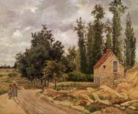 The Road to Osny, 1872