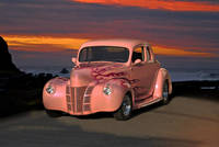 1940 Ford Coupe w/Flames