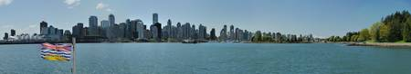 Downtown of Vancouver from Burrard Inlet