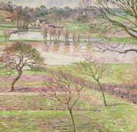 The Flood at Eragny, 1893