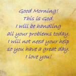 """""""Good Morning This is God"""" by neilepi"""