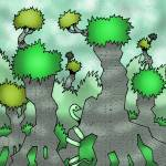 """Green"" by RenfrewArt"