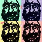 """""""Bodhidharma Warhol Style"""" by bushi"""