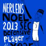 """Nerlens Noel Kentucky Wildcats"" by jbperkins"