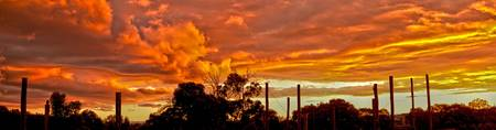 HDR Sunset Over Craigieburn