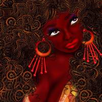 Flirt Art Prints & Posters by Robina Kaira