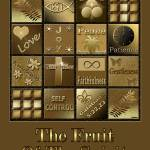 """Fruit Of The Spirit Poster Black/Brown"" by TruthJC"