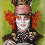 """Johnny Depp as the Mad Hatter"" by MelanieD"