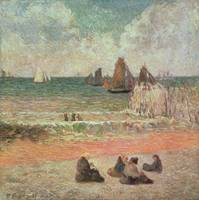 Bathing, Dieppe, 1885
