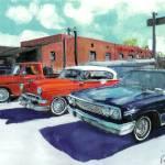 """""""Cars on San Diego Avenue"""" by RDRiccoboni"""