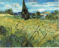 Van Gogh Green Wheat Field with Cypress