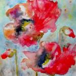 """Dreamy Poppies II"" by KarinJohannesson"
