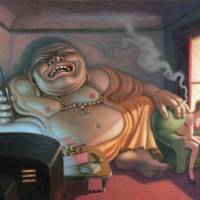 """Bad Buddha"" by MarkBryan"