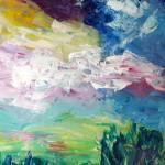 """""""Moonlight Garden"""" by MarcyBrennanArt"""