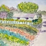 """""""Italian Farm"""" by MarcyBrennanArt"""