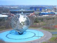 Unisphere, USTA Nat'l Tennis Center & Shea Stadium