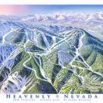 """Heavenly, Nevada Side"" by jamesniehuesmaps"