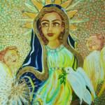 """Maria Pentecostes"" by janetamerica"