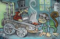Steam Punky Grease Monkey