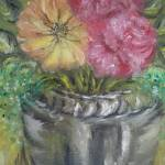 """flowers in vase"" by goldy"