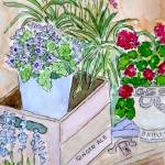 """""""Joyful Flowers"""" by MarcyBrennanArt"""