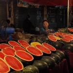 """Watermelon at the Market, Thailand"" by DuaneBigsby"
