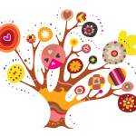"""Whimsical Tree"" by AdinaC"
