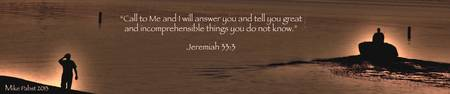 Banner of Faith - Jeremiah 33:3