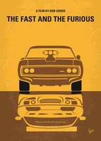 No207 My The Fast and the Furious minimal movie po