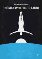 No208 My The Man Who Fell to Earth minimal movie p