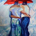 """Red Umbrella Rainbears"" by RDRiccoboni"