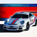 """""""Porsche GT3 Martini"""" by StuartRow"""