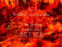 Affirmation: As I breathe 3
