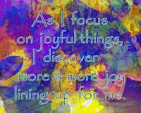 Affirmation: Joyful Things 4