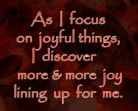 Affirmation: Joyful Things 1