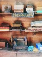 Dressmaking Supplies and Sewing Machine
