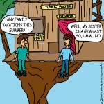 """Family Vacations..."" by gymnasticscartoons"