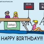"""""""Happy Birthday!!!"""" by gymnasticscartoons"""