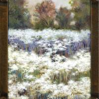 daisy field 13017 14x11 2 Art Prints & Posters by Vic Mastis