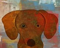 Dog - Woof-Woof in Oils
