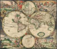 World Map 1671