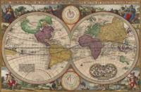World Map 1657