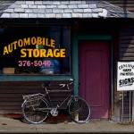 """Automobile Store Bellows Falls"" by visualcontact"