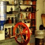 """Coffee Grinder and Canister of Sugar"" by susansartgallery"