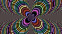 Trippy Four Leaf Clover