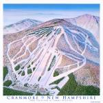 """Cranmore New Hampshire"" by jamesniehuesmaps"